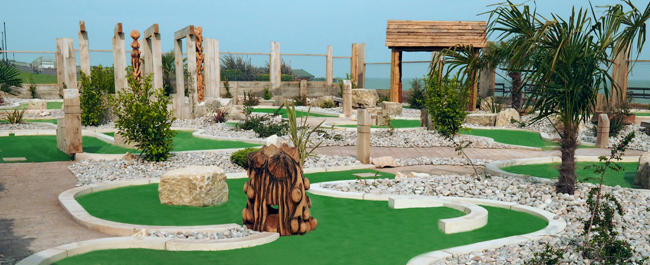 Overview of adventure Golf Course